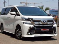 Jual Toyota All New Vellfire ZG 2015