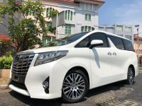Toyota Alphard G 2017 Dijual