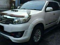 Jual Toyota Fortuner VNT TRD 2013