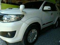 Jual Toyota Fortuner G VNT 2013