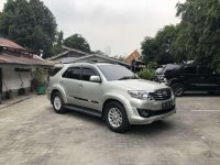 Jual Toyota Fortuner TRD 2011 Silver