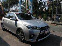 Toyota Yaris G 2014 silver