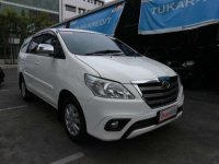 2014 Toyota Kijang Innova 2.5 G dijual