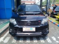 Jual Toyota Fortuner G TRD 2015