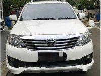 Toyota Fortuner TRD G Luxury 2012 Dijual