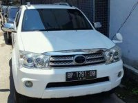 Jual Toyota Fortuner G 2010