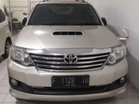 Jual Toyota Fortuner Vnt Turbo Automatic Diesel 2014