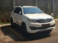 Jual Toyota Fortuner Luxury TRD 2012