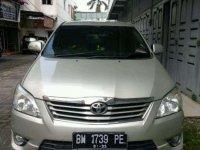 2011 Toyota Kijang Innova V dijual