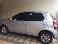 Dijual Toyota Etios Valco E tahun 2016