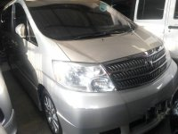 Butuh uang jual cepat Toyota Alphard 2005