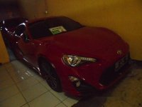 Toyota 86 2013 bebas kecelakaan