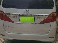 Jual Toyota Alphard 2014 Automatic