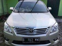 Toyota Innova 2012 bebas kecelakaan