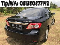 Toyota Corolla Altis 2013 bebas kecelakaan
