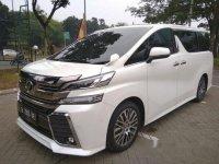 Toyota Vellfire ZG dijual cepat
