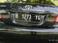 Toyota Vios 2010 bebas kecelakaan