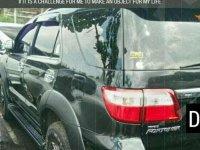 Jual Toyota Fortuner 2011, KM Rendah