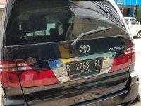 Jual Toyota Alphard 2007 harga baik
