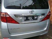 Toyota Alphard 2009 dijual cepat