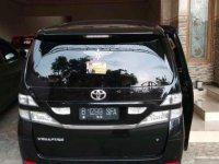 Toyota Vellfire 2008 bebas kecelakaan