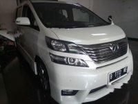 Toyota Vellfire Z dijual cepat