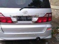 Toyota Alphard 2007 bebas kecelakaan