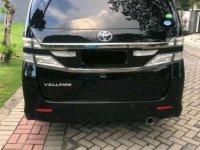 Toyota Vellfire 2012 bebas kecelakaan