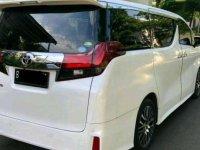 Toyota Alphard S bebas kecelakaan