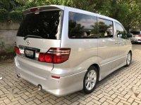 Toyota Alphard 2.4 NA dijual cepat