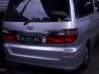 Jual Toyota Alphard 2004, KM Rendah