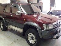 Toyota Hilux 1996 bebas kecelakaan