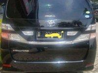 Jual Toyota Vellfire 2010, KM Rendah