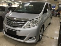 Toyota Alphard G G dijual cepat