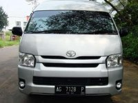 Toyota Hiace High Grade Commuter bebas kecelakaan