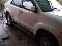 Jual Toyota Fortuner 2012 Manual