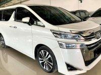 Toyota Vellfire 2018 bebas kecelakaan