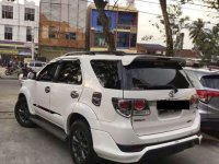 Jual Toyota Fortuner 2015 Manual
