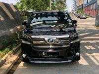 Toyota Vellfire X bebas kecelakaan