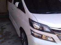 Jual Toyota Vellfire 2013, KM Rendah