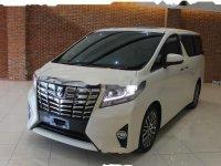 Toyota Alphard G bebas kecelakaan