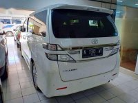 Toyota Vellfire 2014 bebas kecelakaan