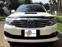 Toyota Fortuner 2012 dijual cepat
