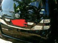Jual Toyota Vellfire 2008, KM Rendah