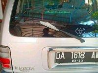 Toyota Kijang Krista dijual cepat