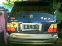 Toyota Kijang 2001 bebas kecelakaan