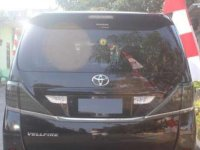 Toyota Vellfire 2009 dijual cepat