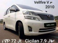 Jual Toyota Vellfire 2010 harga baik