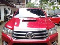 Toyota Hilux 2016 bebas kecelakaan