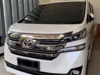 Toyota Vellfire 2016 dijual cepat